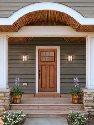 Boost your home's curb appeal by installing a new high-quality entry door.
