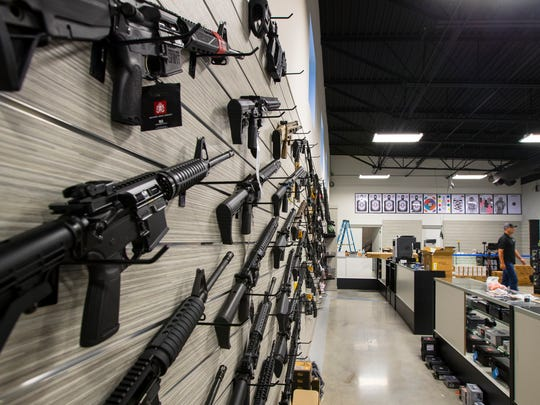A look inside some of the rifles availble at Cape Coral's