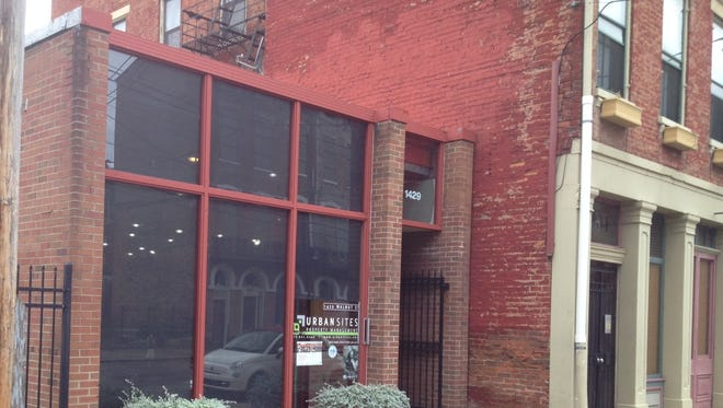 1429 Walnut, Over-the-Rhine, future home for a bar owned by Joe Creighton