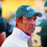 Former Baylor Bears head coach Art Briles prior to a game against the Lamar Cardinals.