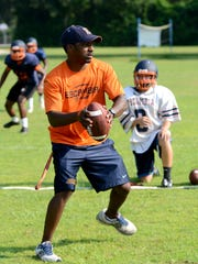 Escambia High School head coach Willie Spears and six of his players could be deemed ineligible to participate in the 2014 season due to possible recruiting violations. Spears announced via text Tuesday that he has been suspended with pay.