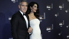 Amal celebrated her first red carpet appearance post-pregnancy