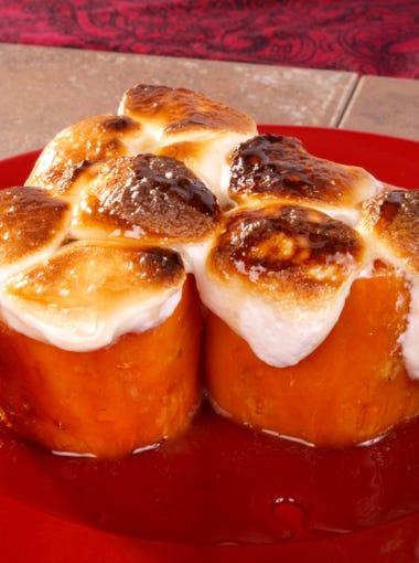 No. 10. Yams with marshmallows.