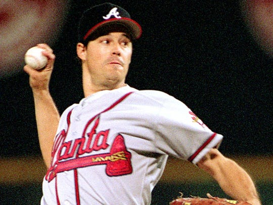 With the Cubs and Braves, Maddux won four straight Cy Young Awards from 1992-95.