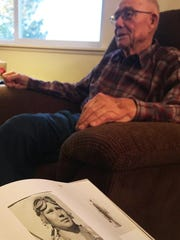 James Geiger of Conrad was in the 303 Bomber Squad and flew in support of the Battle of the Bulge in December 1944.