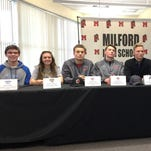 Milford signees take center stage