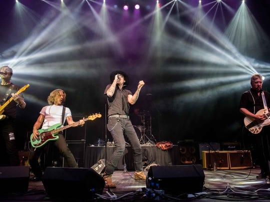 The original members of Sponge perform at the Detroit