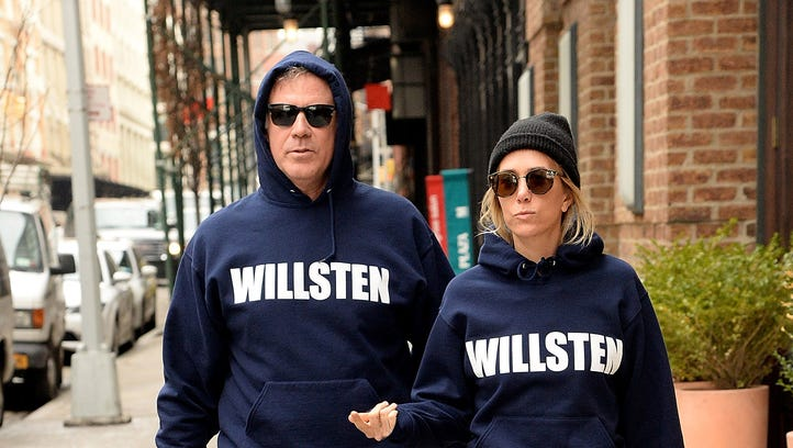 Will Ferrell and Kristen Wiig rocked those hoodies