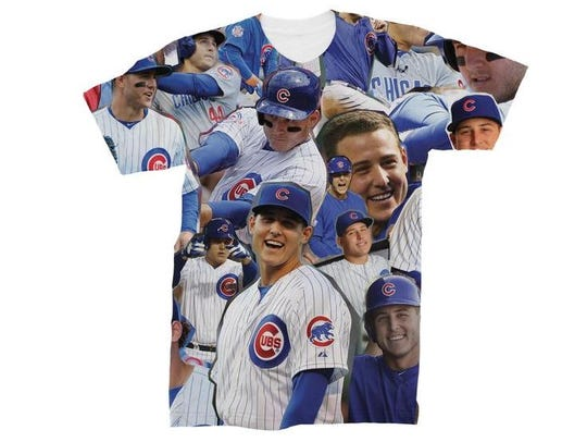 These collage t-shirts are a break from the norm.