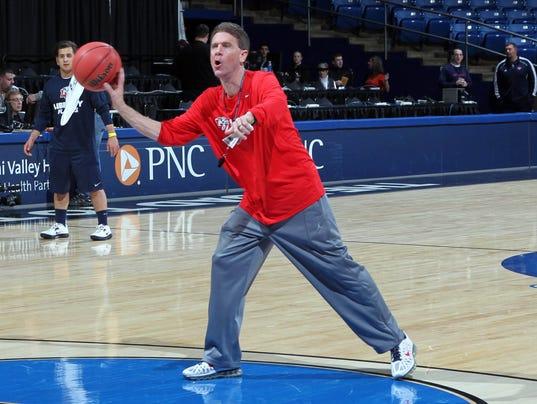 NCAA Basketball: NCAA Tournament-Liberty Practice