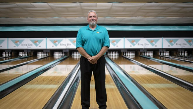 Craig Rhodes, the managing partner of the ownership group for King Pin Lanes, thinks the current Phase 4 reopening guidelines limiting indoor guests to 50 people or 50% of capacity, whichever is less, is too restrictive for the bowling alley which has a capacity of holding up to 320 people. The Illinois State Bowling Proprietors Association has filed a lawsuit against Gov. JB Pritzker alleging that Illinois' reopening guidelines are hurting bowling alleys financially and are unconstitutional.
