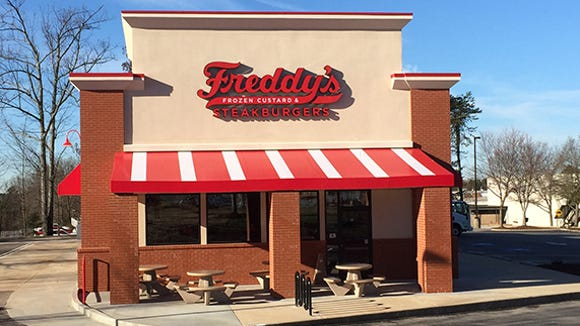 Freddy's Frozen Custard & Steakburger opens today.