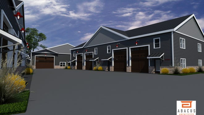 A new condo project that's now under construction in Elkhart Lake will allow car collectors to live under the same roof as their toys.