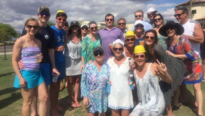 """Peachtree Planning leadership and their families attend a conference, where they set a Guinness World Record for the longest game of """"freeze dance."""""""