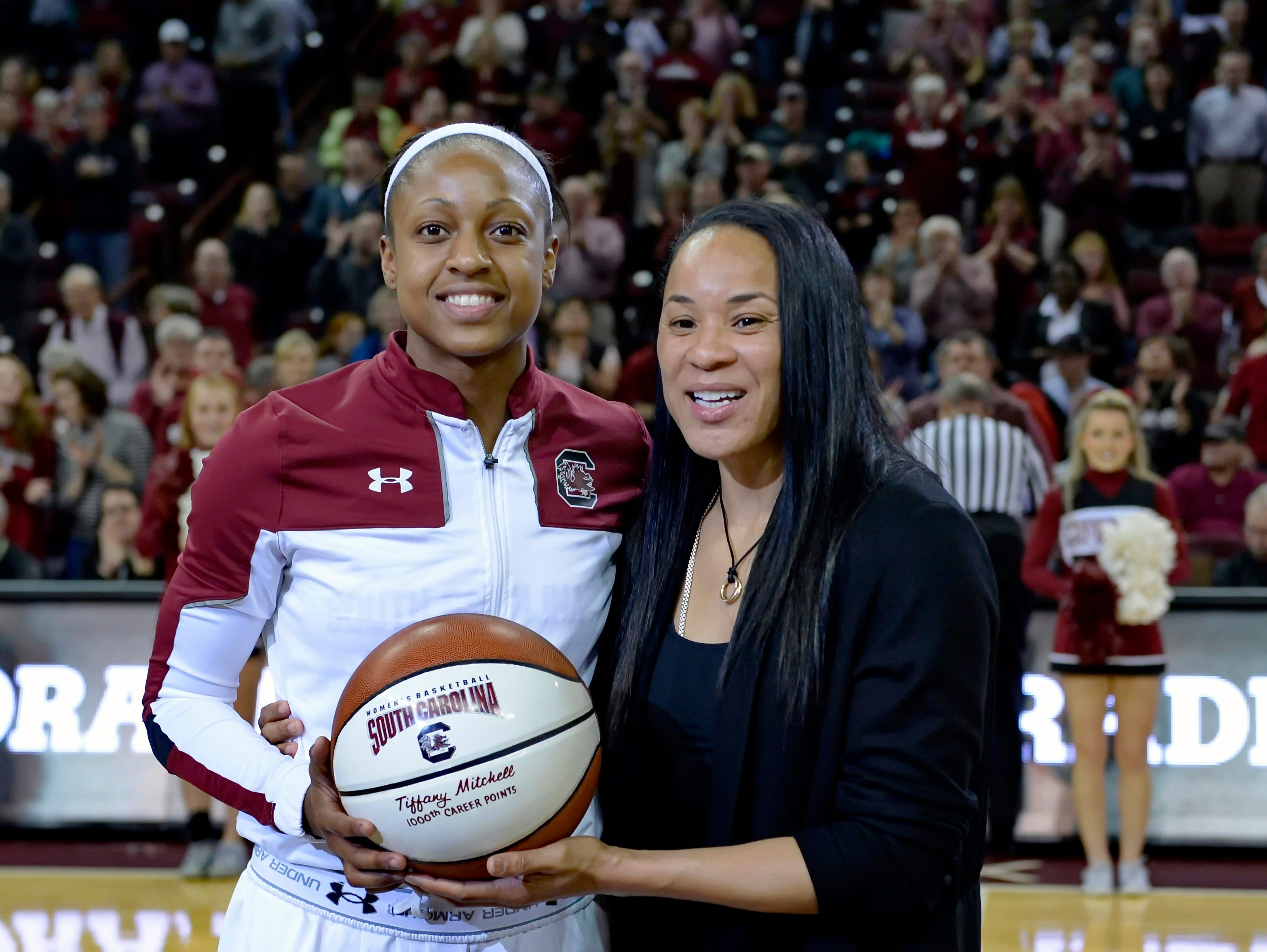 Dan Staley and Gamecocks All-American Tiffany Mitchell hope to keep USC among nation's elite.
