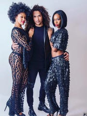 Models wearing close from Kloset Slayer by Marcia Amsparger
