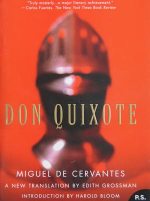 """The 2005 translation of """"Don Quixote"""" that will be read aloud in front of the Old Capitol Museum starting Monday, Sept. 28."""