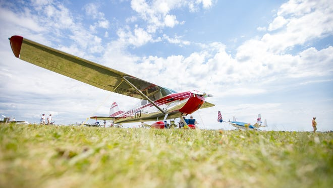 Thousands of planes are on display at the EAA AirVenture in Oshkosh every July.
