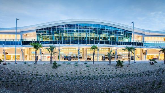 San Diego International Airport's new rental car center.