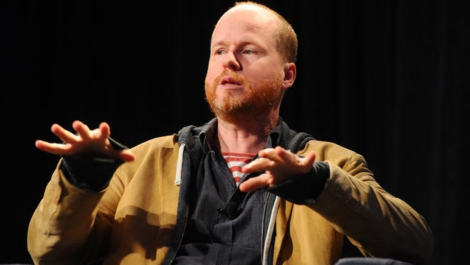 """Producer/Director/Writer Joss Whedon speaks at the """"A Conversation with Joss Whedon"""" Panel during the 2012 SXSW Music, Film + Interactive Festival at Austin Convention Center on March 10, 2012 in Austin, Texas."""