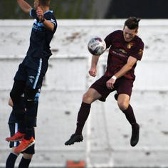 Detroit City FC ends season in lopsided loss to Serie A Frosinone Calcio before 7,887 crowd