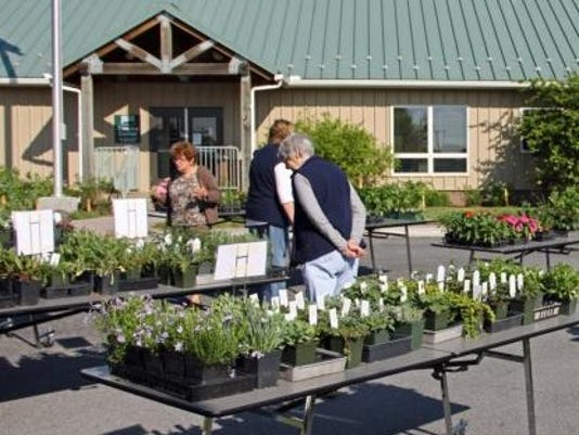 Each year the Penn State Master Gardeners of Adams County host a plant sale at the Agricultural and Natural Resource Center.