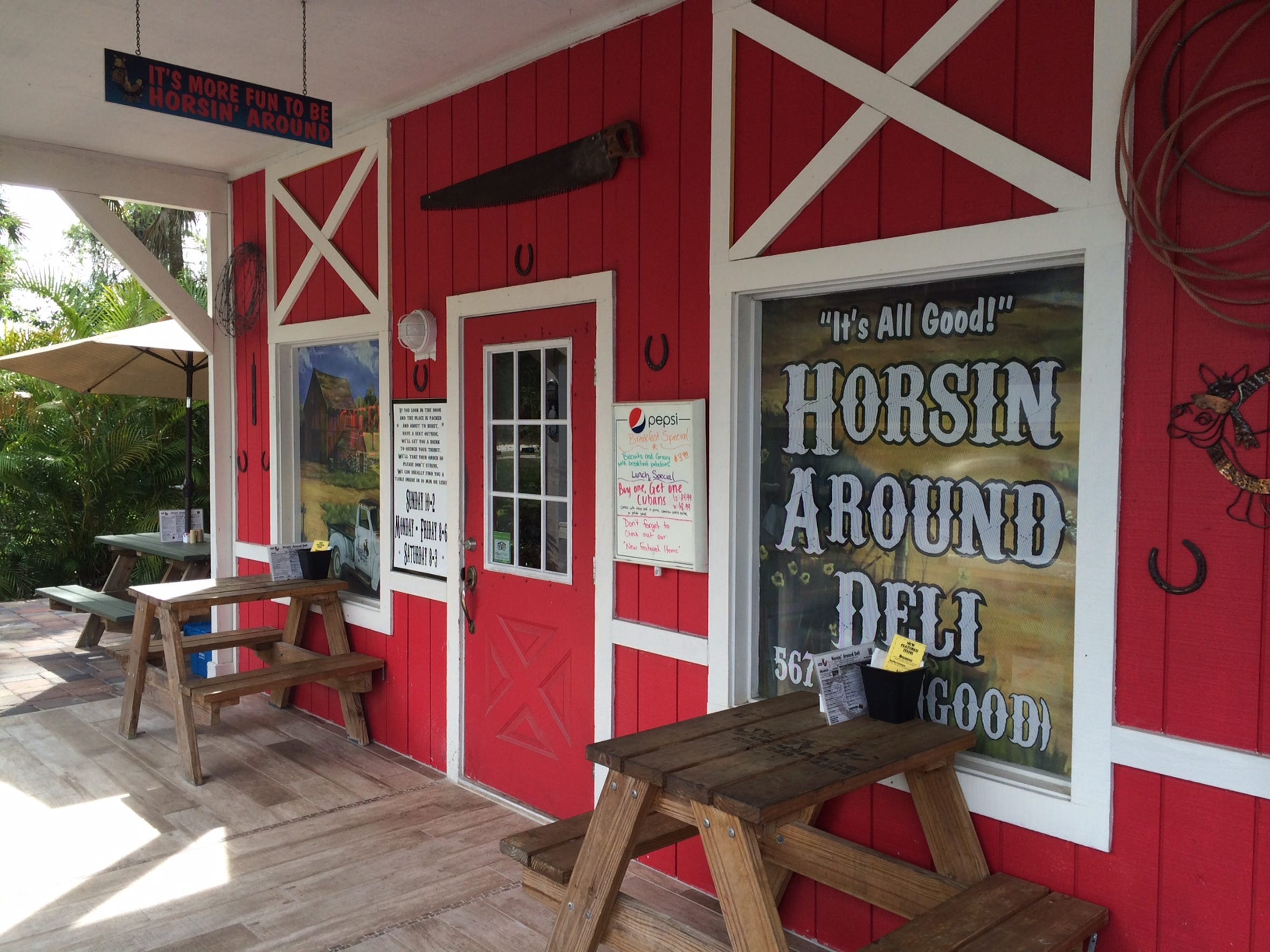 Horsin' Around Deli in North Fort Myers