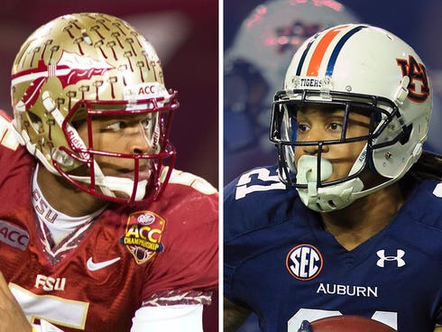 Florida State and Heisman favorite Jameis Winston face the dynamic run game of the Auburn Tigers in the national championship.