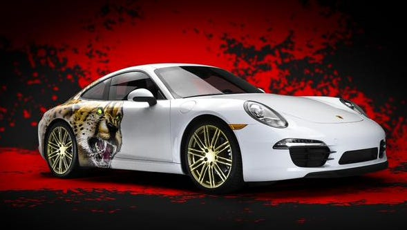 Adidas had planned to give three players a new Porsche.