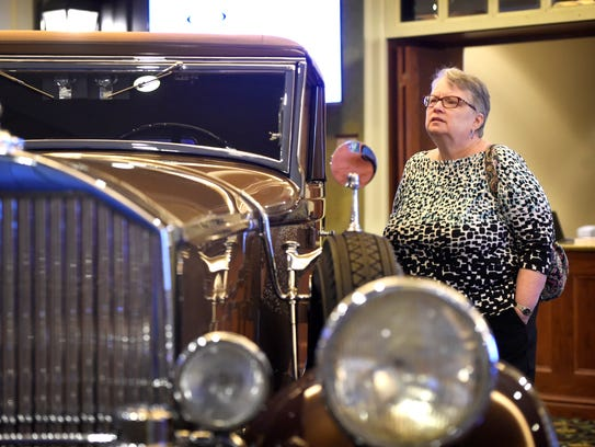 Sotheby's auto auction preview at Hershey Lodge, part
