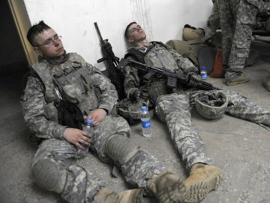 Army morale low