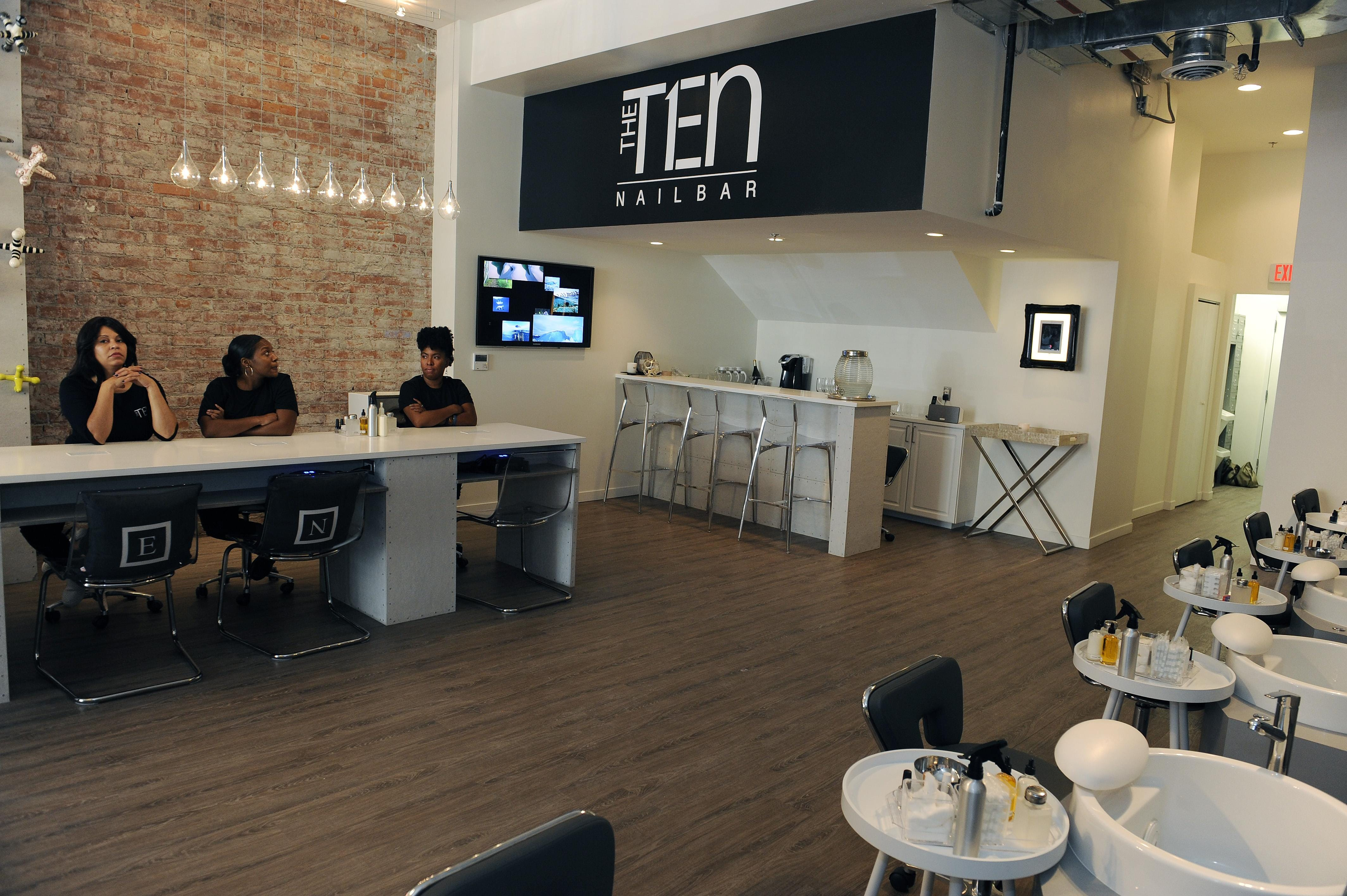 The Full Service Nail Salon Will Open Friday And Offer Pedicures And  Manicures As Well As Wine And Champagne