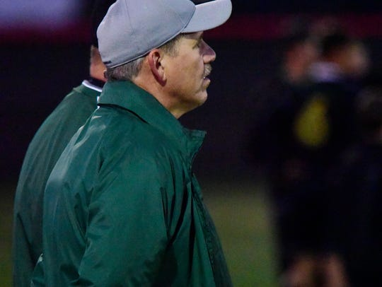 Oak Harbor's Ken Filar earned all-district coach of the year honor.