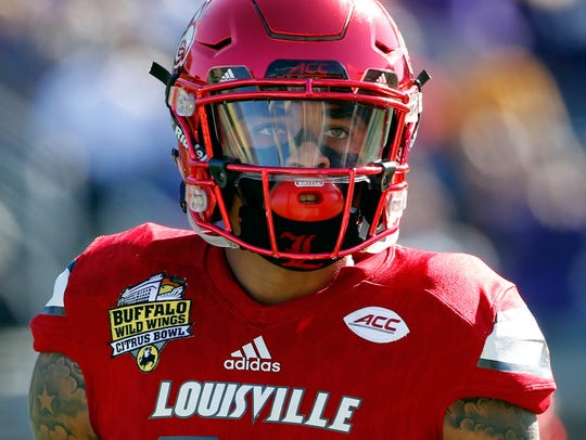 Former Louisville cornerback Jaire Alexander was the