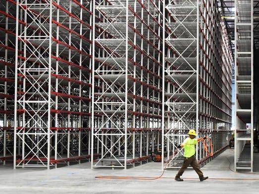 Amazon's Livonia Fulfillment Center has more than one