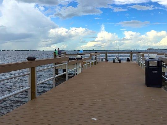 Sanibel's public fishing pier got a makeover, paid