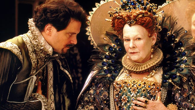 Judi Dench, with Colin Firth, took home an Oscar for Shakespeare in Love. (l-r) Colin Firth and Judi Dench in Shakespeare in Love.