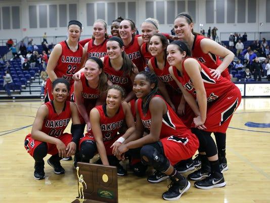 Mount Notre Dame vs Lakota West Girls Basketball Regional Final