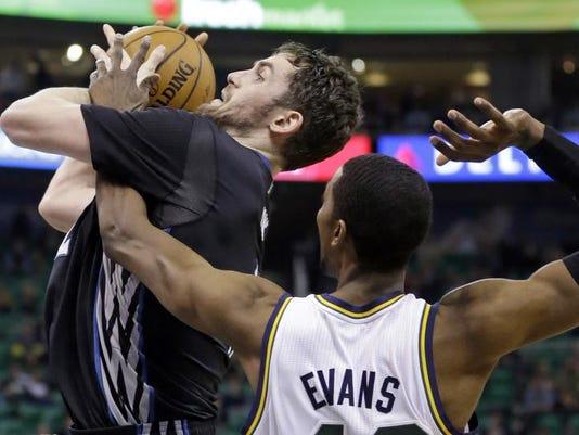 Timberwolves Jazz Basketball
