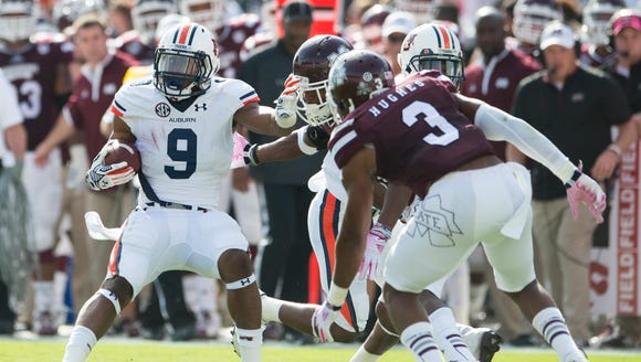 Auburn running back Roc Thomas had his first meaningful