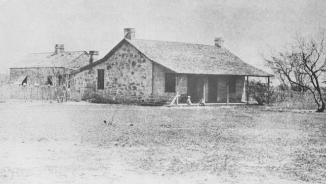 The main house and barn were constructed at the Bismarck farm in 1868.