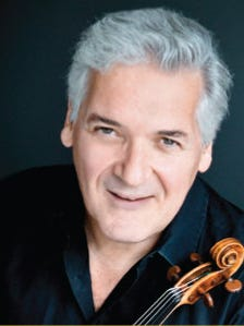 Legendary violinistPinchas Zukermanwill perform with theRoyal Philharmonic Symphony Orchestra of London on Jan.12 at The Community Church in Vero Beach