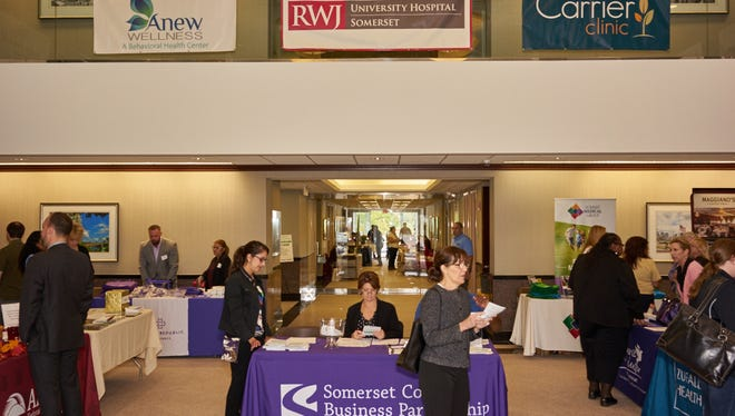 Somerset County Business Partnership is seeking exhibitors for its workplace wellness expo on Oct. 13 at Anew Wellness in the Somerset section of Franklin.