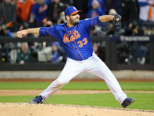USP MLB: NLCS-CHICAGO CUBS AT NEW YORK METS S BBN USA NY