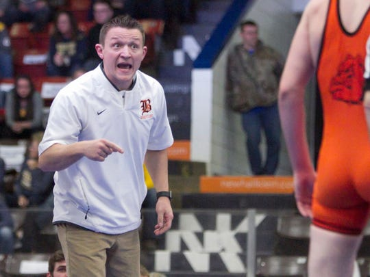 Tony Greathouse has taken Brighton to the final match in the state wrestling tournament twice, winning the title in 2015.