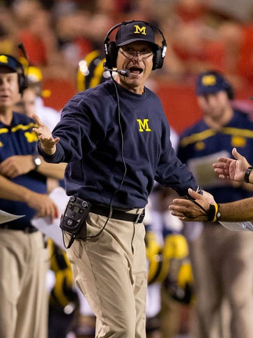 Michigan fell in Jim Harbaugh's return to the Wolverines