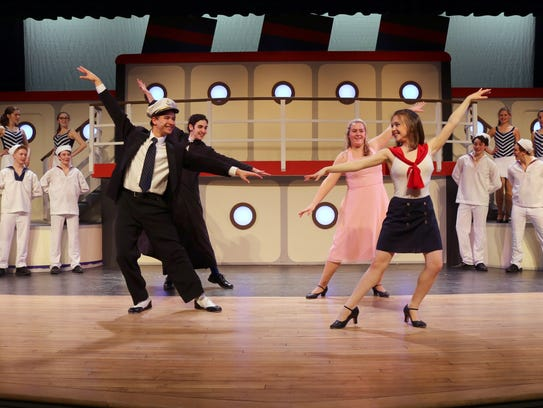 Ithaca High School produced 'Anything Goes' in 2017.