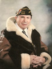 Fort Lee's Sidney Ostrovsky, now, 93, sports his Veterans of Foreign Wars Post 2342 hat in this undated file photo.
