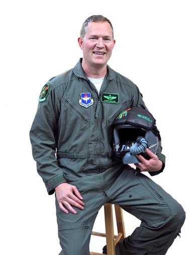 Chris Mulder, U.S. Air Force pilot at Sheppard Air