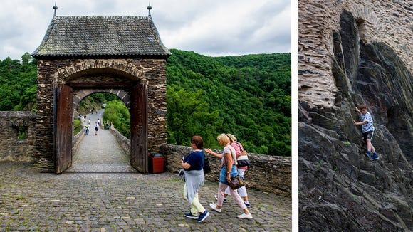 Views of Castle Eltz.